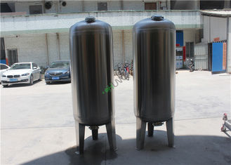 Multi Media 316 Stainless Steel Filter Housing , Industrial Water Filter Housing