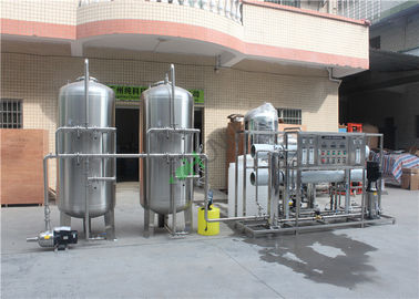 China Industrial Reverse Osmosis Water Purification Machine 5 Tons Dull Polish supplier