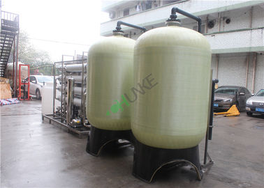 8TPH Pure Water RO Water Treatment Plant , Reverse Osmosis Equipment
