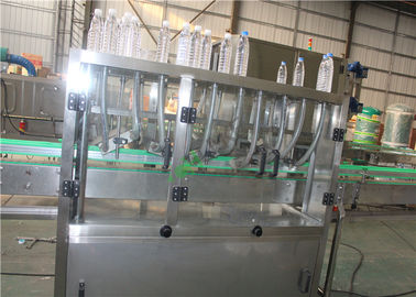 Purified Drinking Water Bottling Plant Water Filling Line Stainless Steel