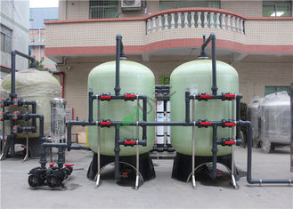 Big Brackish Water Treatment Plant FRP Material CNP Pump DOW Vontrone GE Membrane
