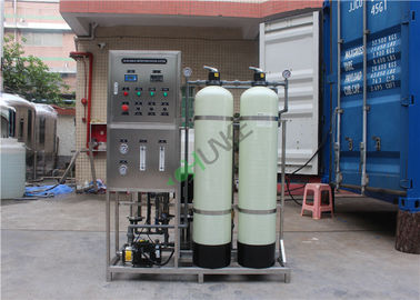 Manual Valve Industrial Water Purification Equipment With Activated Carbon Sand