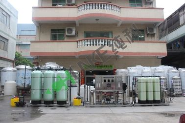 Industry Reverse Osmosis For Hotel Drinking Water Purification With Sand Carbon Softener