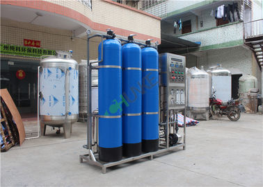 Blue FRP Industrial RO System for Purification Water Treatment Equipment