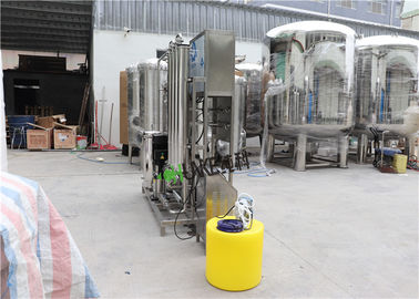 Ro Purification System Brackish Water Treatment Plant For Food Making Industry