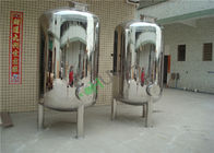 Stainless Steel Water Tank Water / Milk / Beer Storage Tank Vessel Housing