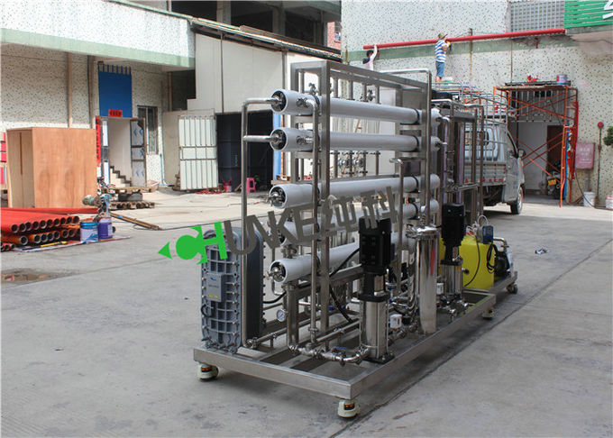 1000L RO EDI Water Treatment Plant Reverse Osmosis Water Treatment System For Ultra Pure Water 1