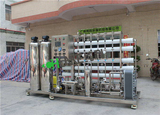 1000L RO EDI Water Treatment Plant Reverse Osmosis Water Treatment System For Ultra Pure Water 0